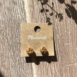New! Madewell Golden Ear Stud